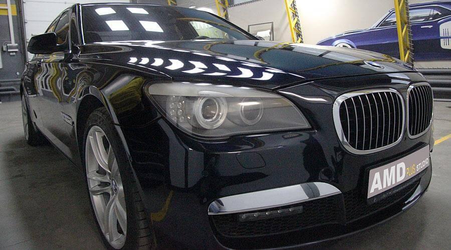 Восстановительная полировка BMW 750i