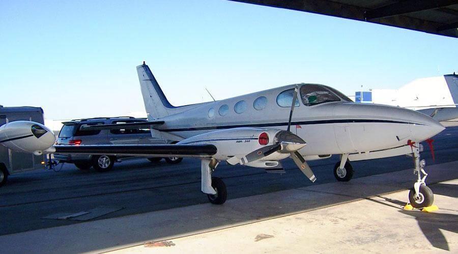 Химчистка сидений и полировка кузова Cessna 340