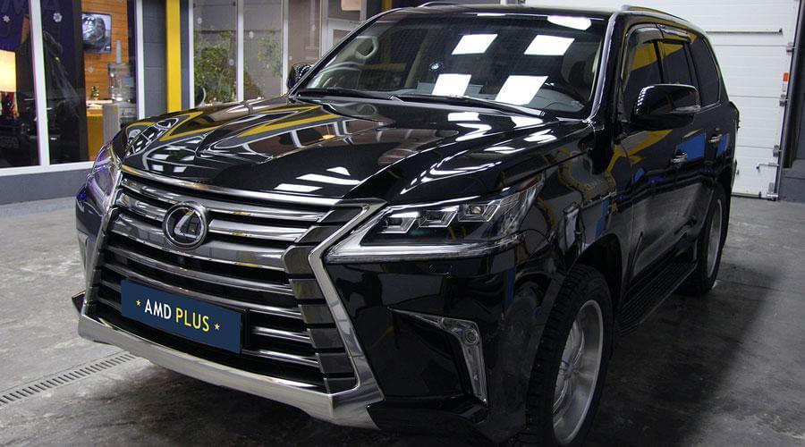 Нанесение керамического покрытия Opti-Coat Pro Plus Lexus LX-570 New