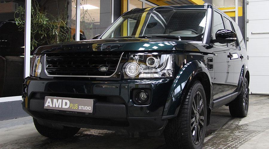 Полировка кузова автомобиля Land Rover Discovery 4