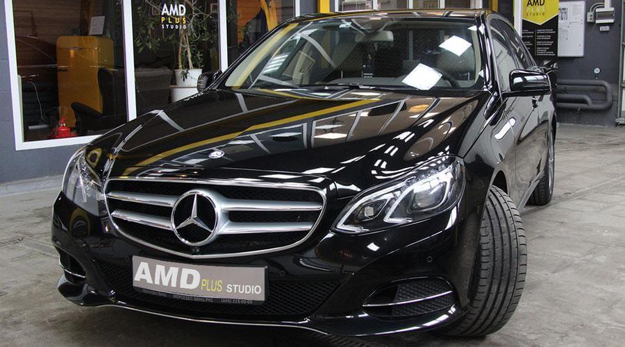 Полировка и защитное покрытие Opti-Coat Pro Mercedes E400
