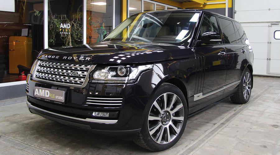 Полировка авто Range Rover