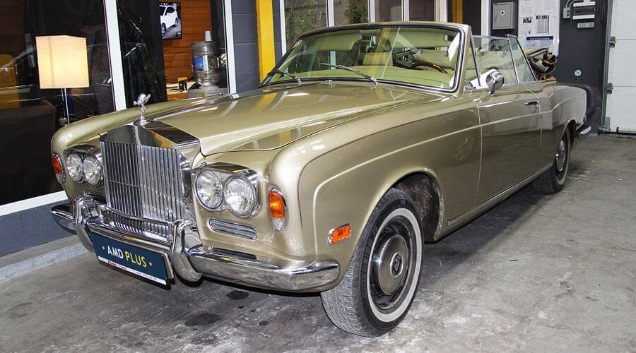 Комплексная реставрация салона Rolls-Royce 1971