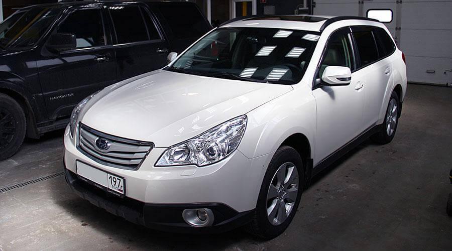 Предпродажная подготовка Subaru Outback