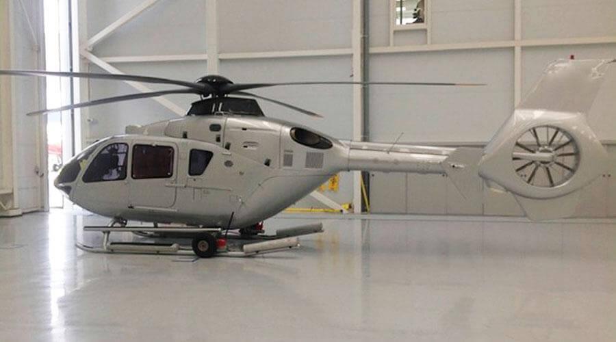 Реставрация и полировка вертолета
