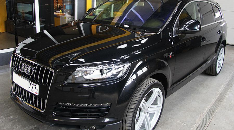 Подготовка к продаже Audi Q7
