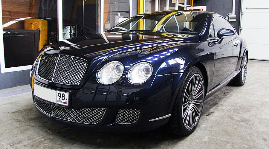 Восстановительная полировка кузова Bentley