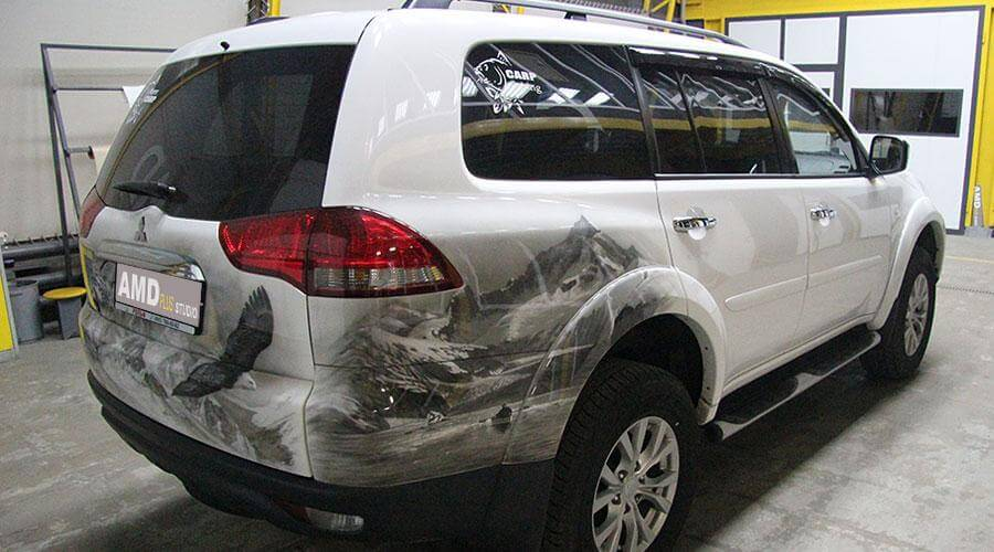 Защитное покрытие Opti-Coat Pro Mitsubishi