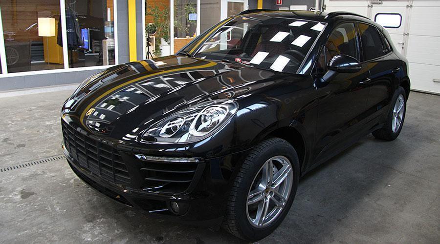 Восстановительная полировка Porsche Macan S