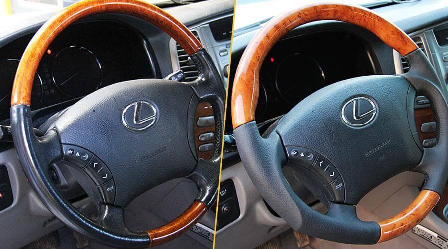 Перетяжка руля с изменением анатомии Lexus LX-470