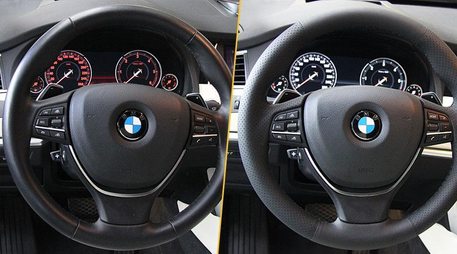 Перешивка обода руля BMW GT 530