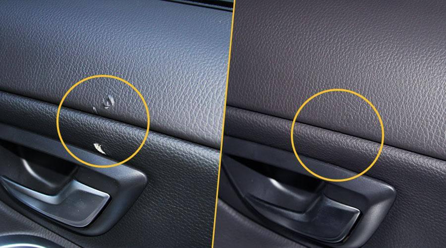 Ремонт обивки двери Volvo XC90