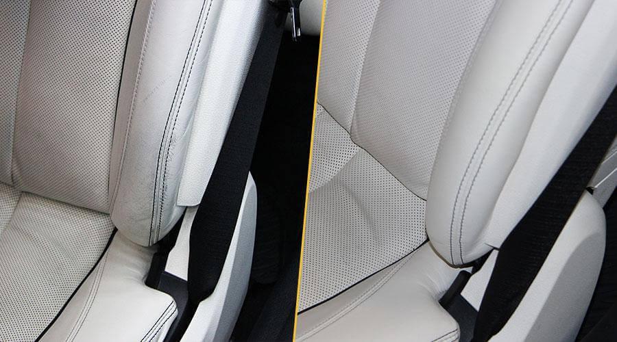 Замена элементов переднего кресла BMW 650