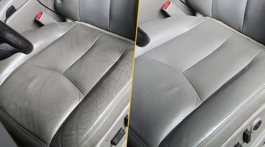 Ремонт сиденья с покраской Chevrolet Tahoe