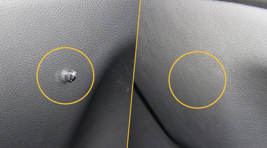 Ремонт разрыва обшивки сиденья Mercedes-Benz С200