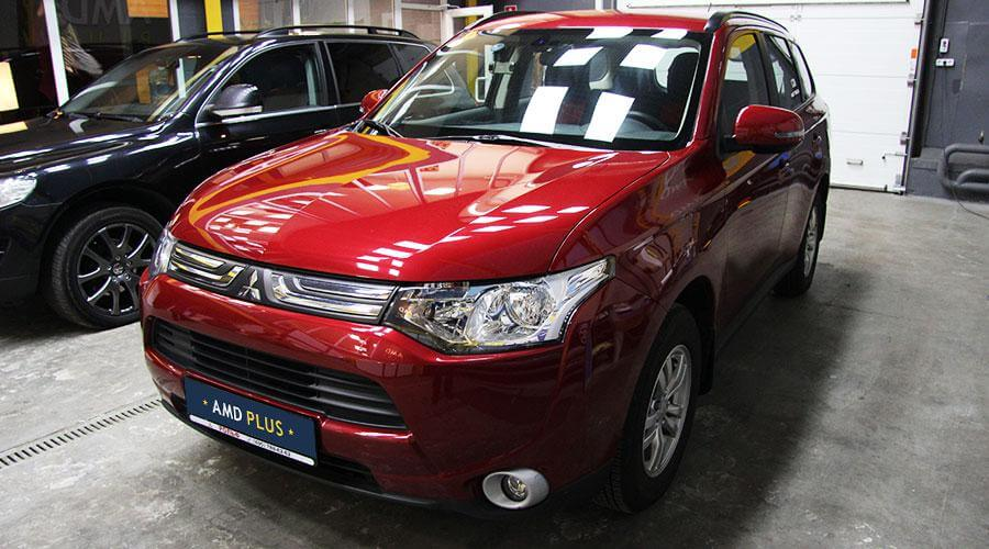 Полировка кузова автомобиля Mitsubishi Outlander