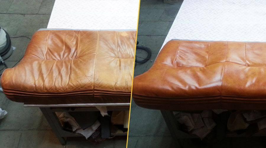 Работы по реставрации сиденья дивана