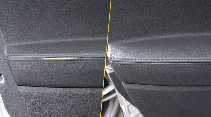 Ремонт виниловой обшивки двери Ford Explorer