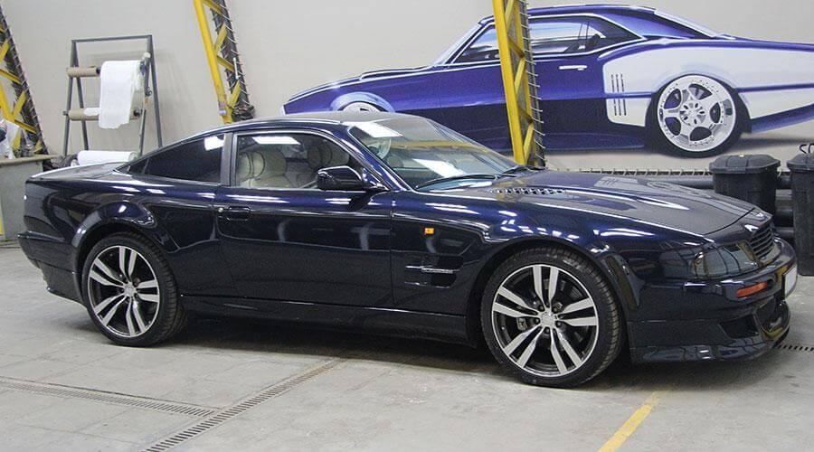 Ремонт салона авто Aston Martin Vantage