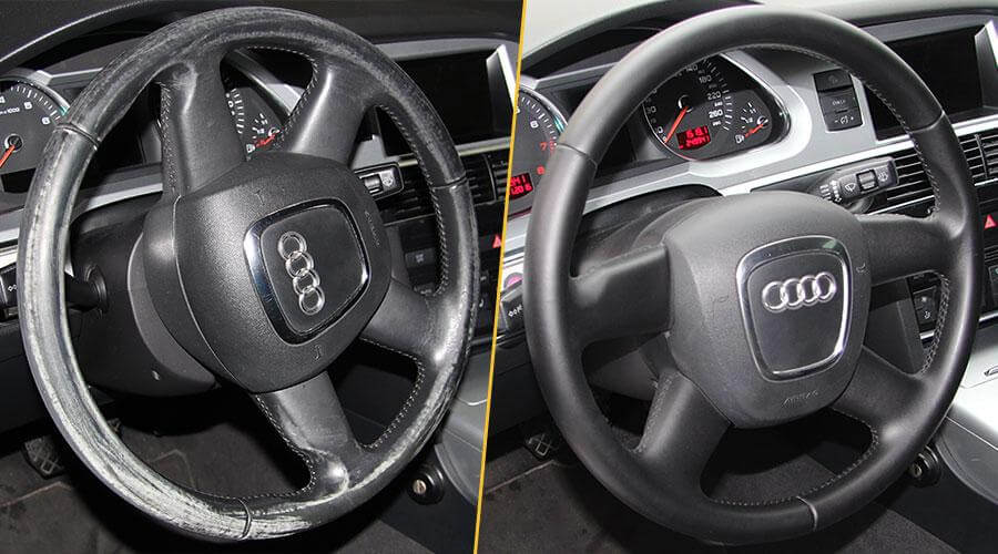 Покраска руля Audi A4