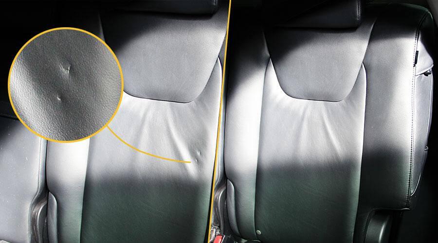 Реставрация сидений Lexus RX350