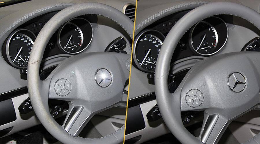 Покраска руля Mercedes-Benz GL-500