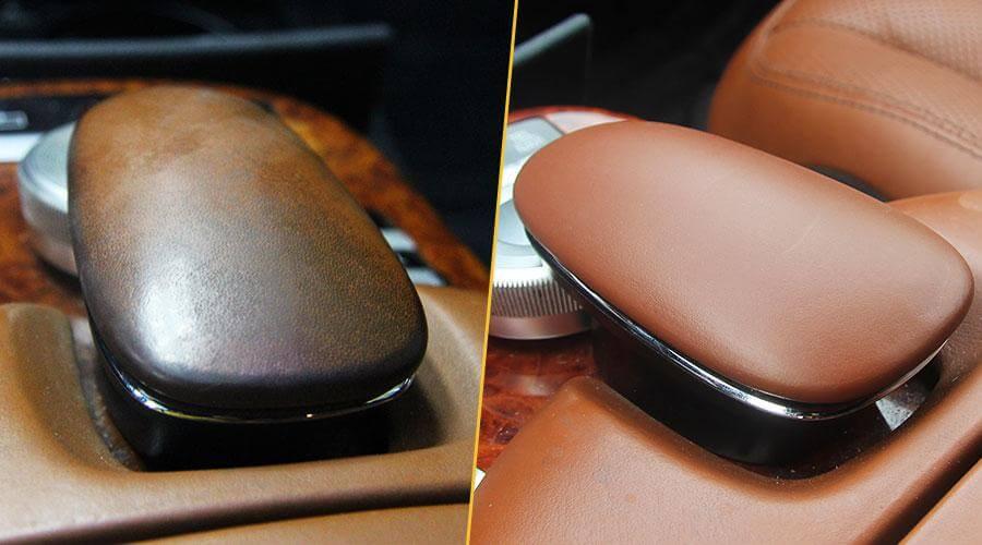 Покраска крышки телефона Mercedes-Benz S-500