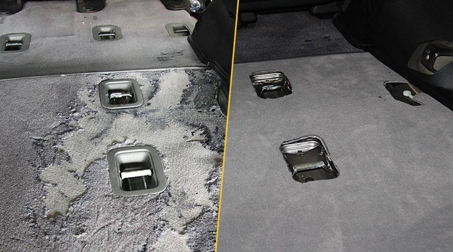 Замена коврового покрытия Toyota Land Cruiser 200