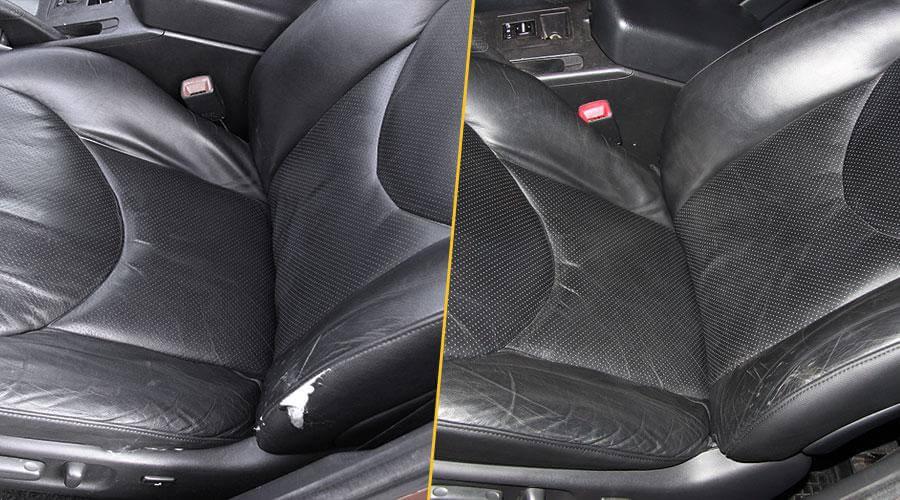 Замена двух элементов переднего кресла Toyota RAV4