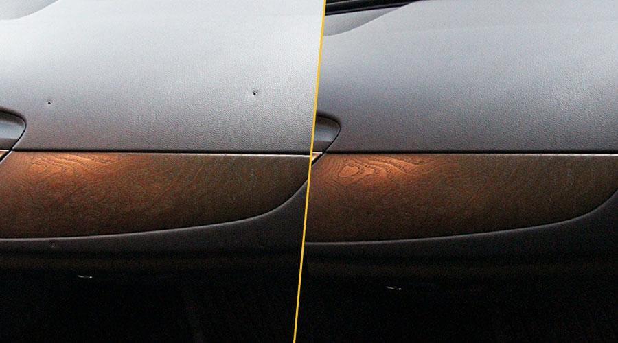Ремонт и покраска торпеды Audi A6