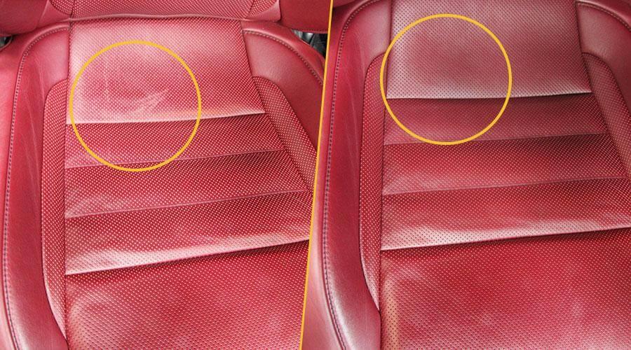 Реставрация и покраска сиденья Lexus IS250