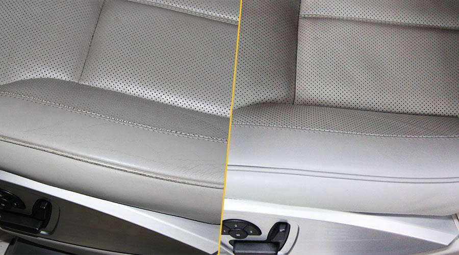 Покраска сиденья Mercedes-Benz GL-500
