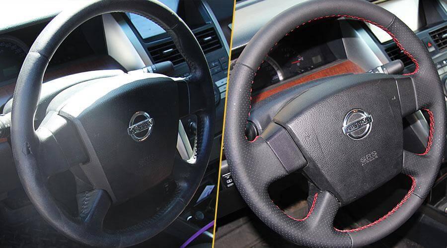 Перешивка руля Nissan Teana