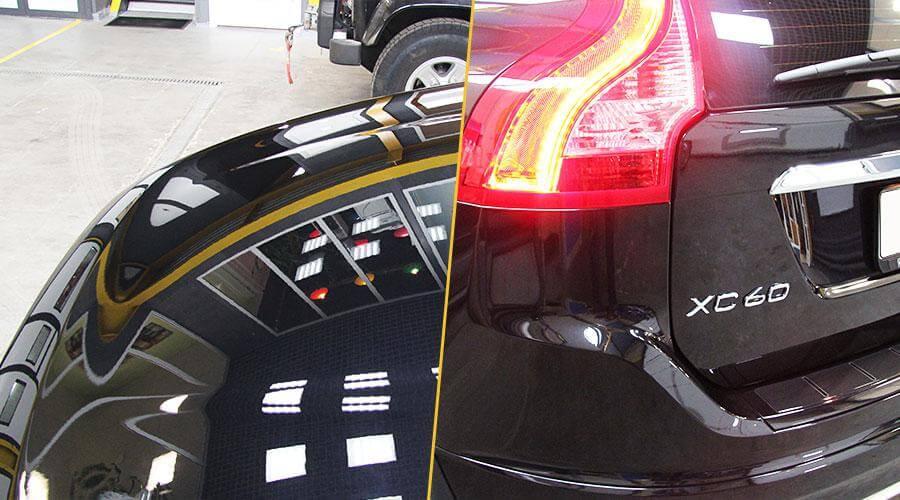Восстановительная полировка Volvo XC60