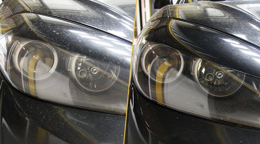 Полировка фар Hyundai GK