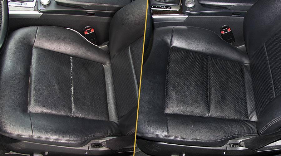 Замена центрального элемента сиденья Mercedes