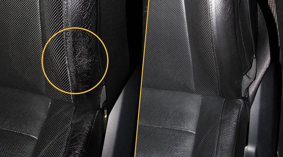 Ремонт повреждения боковой поддержки переднего кресла BMW X5