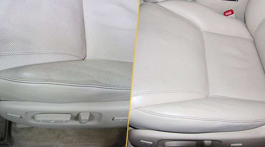 Покраска передних сидений Lexus LX-570