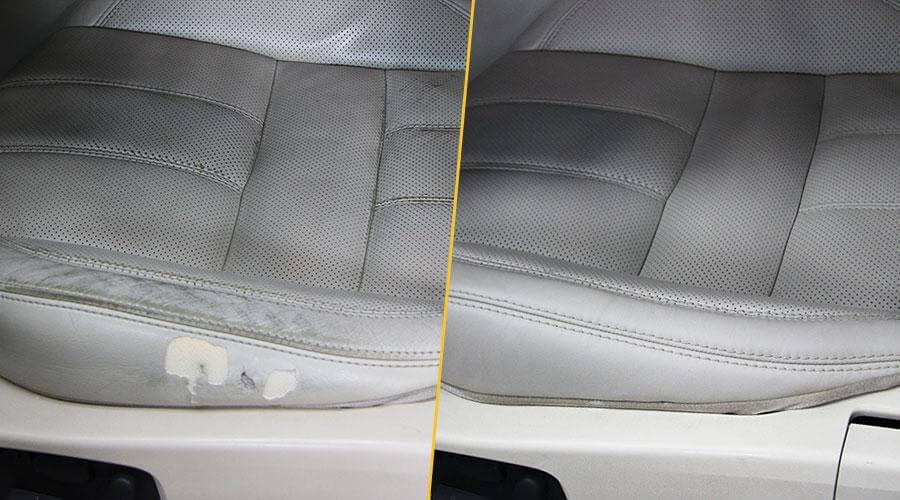 Замена элемента сиденья и восстановление наполнителя Range Rover