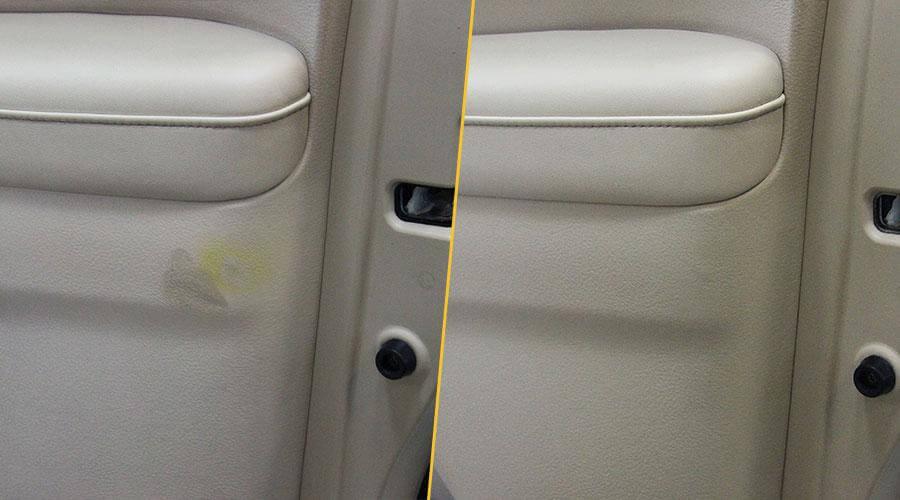 Ремонт и покраска пластика Lexus
