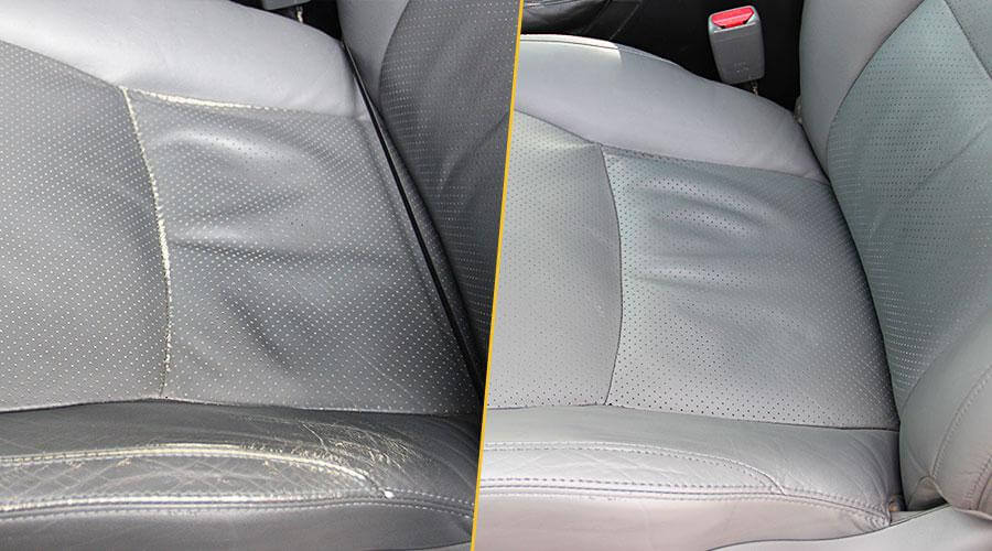 Покраска сиденья Toyota Prado 120