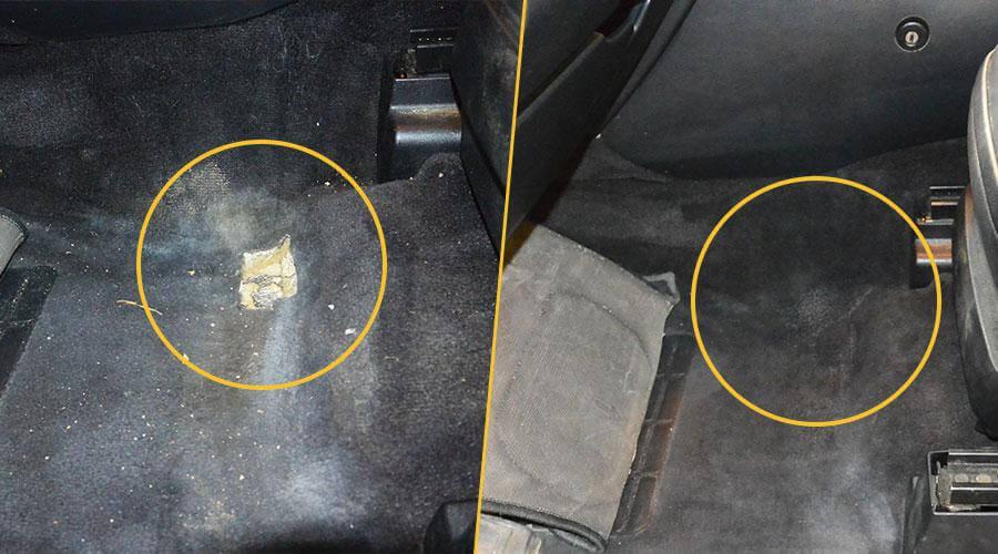 Ремонт напольного покрытия Range Rover