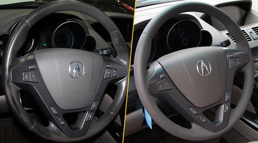 Покраска руля Acura