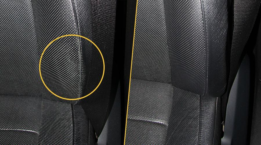 Локальная покраска сиденья BMW X5 M50D