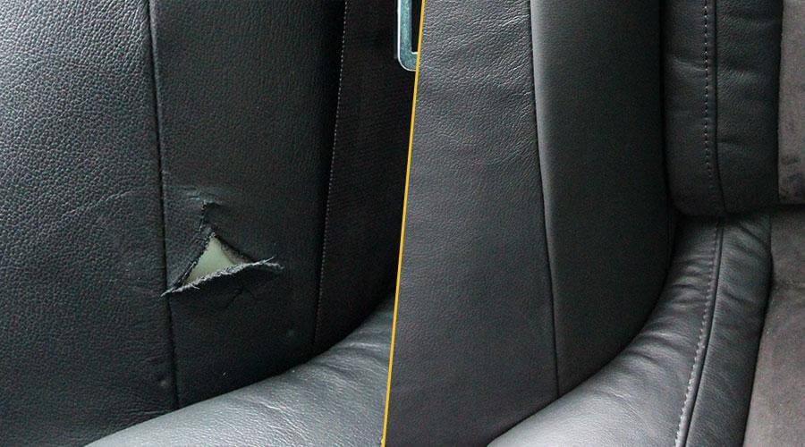 Ремонт пореза проема двери Skoda Superb