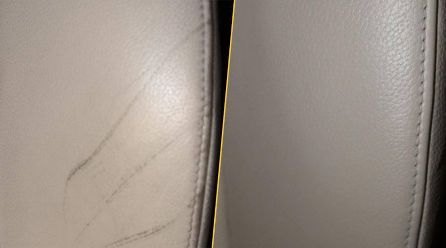 Покраска сиденья BMW 320i