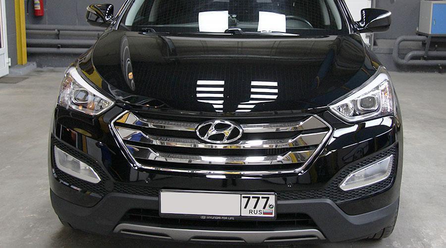 Восстановительная абразивная полировка Hyundai Santa Fe