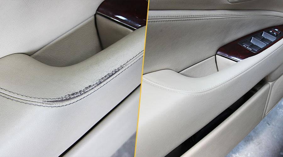 Реставрационная покраска ручки Lexus LS-460