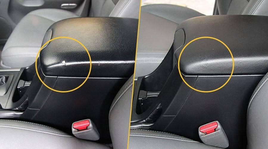 Ремонт царапины Toyota Land Cruiser Prado