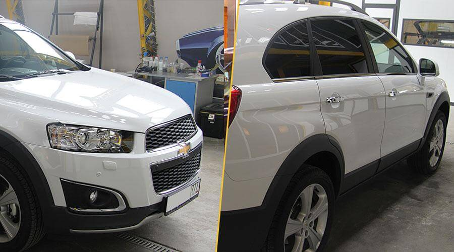 Жидкое стекло Gloss-Coat Chevrolet Captiva